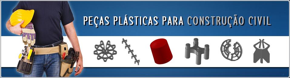 Lançamentos em Espaçadores e Distanciadores Plásticos para Concreto