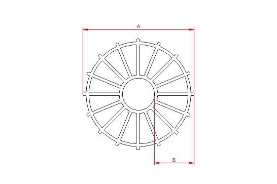 Desenho Técnico  CF - Circular Fechado