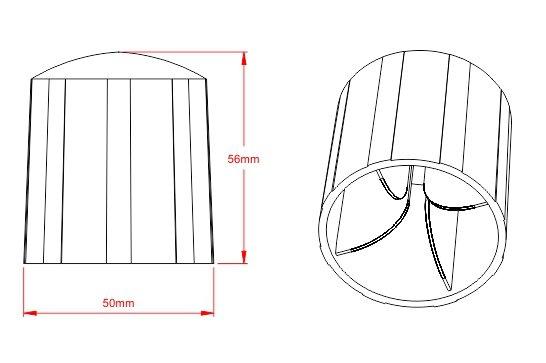 Desenho Técnico  PF - Protetor de Vergalhão