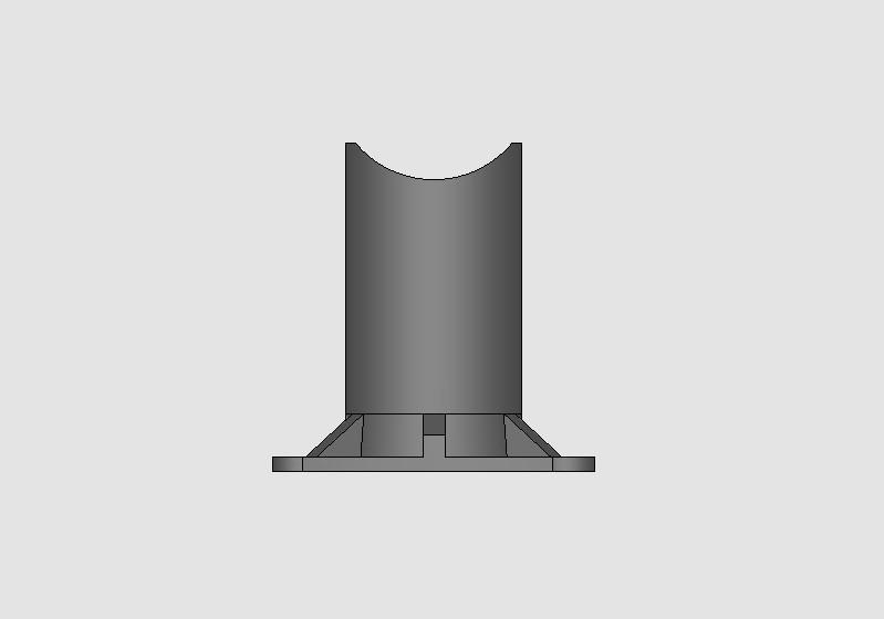 Imagem 2 3D Apoio para cordoalha