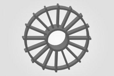 Espaçador para Concreto CF - Circular Fechado