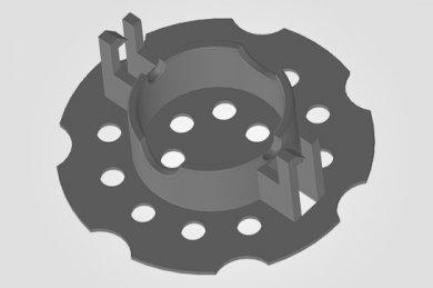 Espaçador para Concreto ISO 10 - Espaçador Isopor