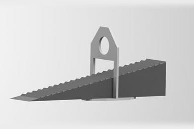 Espaçador para Concreto Nivela Piso - Nivelador de Pisos Cerâmicos
